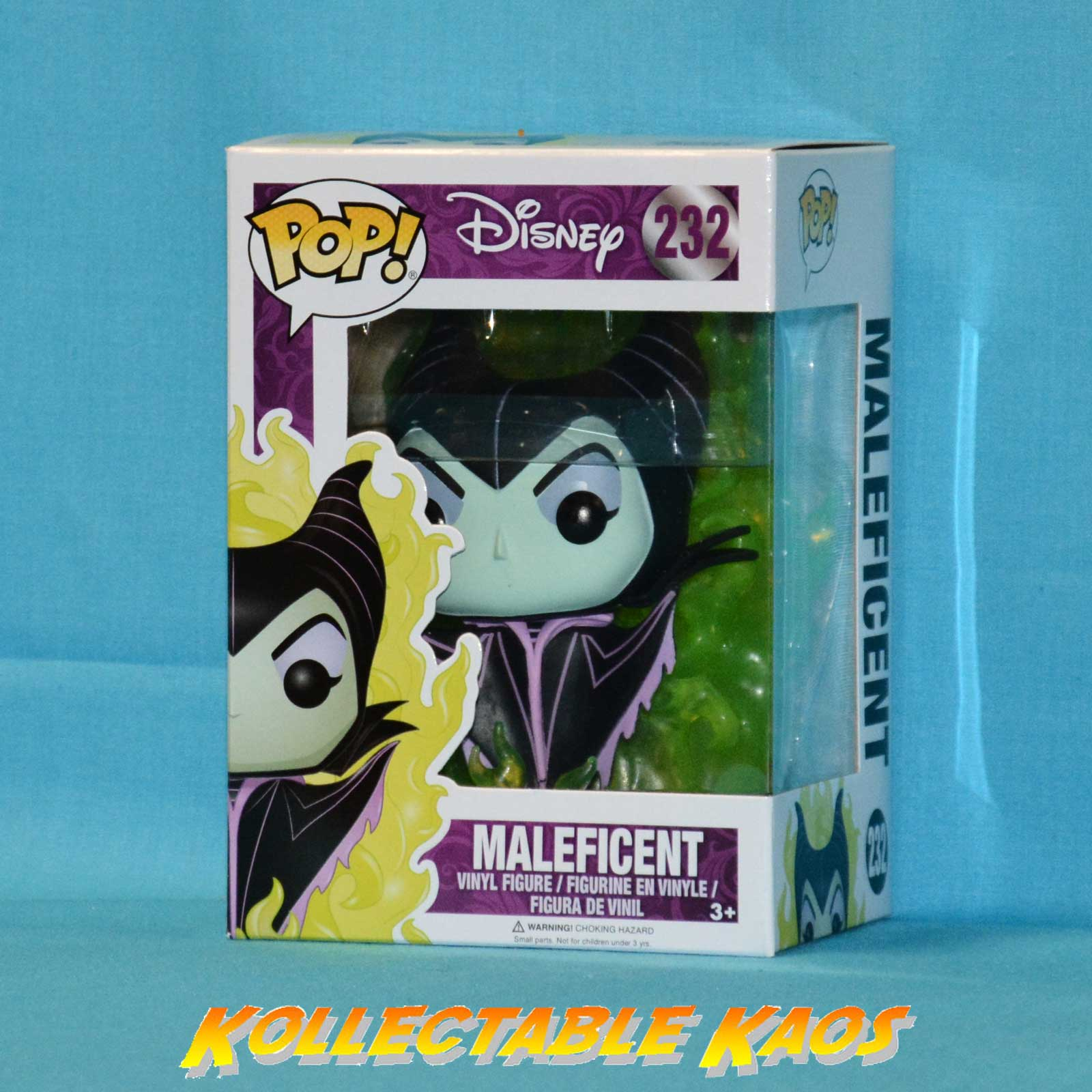 Sleeping Beauty Maleficent New Pop Vinyl Figure Rs