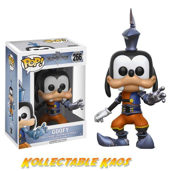 Kingdom Hearts - Goofy with Armour Pop! Vinyl Figure(RS)