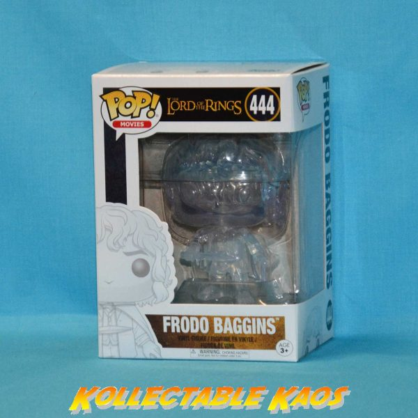 Lord of the Rings - Frodo Baggins Invisible Pop! Vinyl Figure(RS)