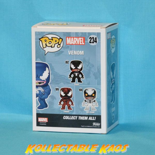 Spider-Man - Blue Venom (New Pose) Pop! Vinyl Figure(RS)