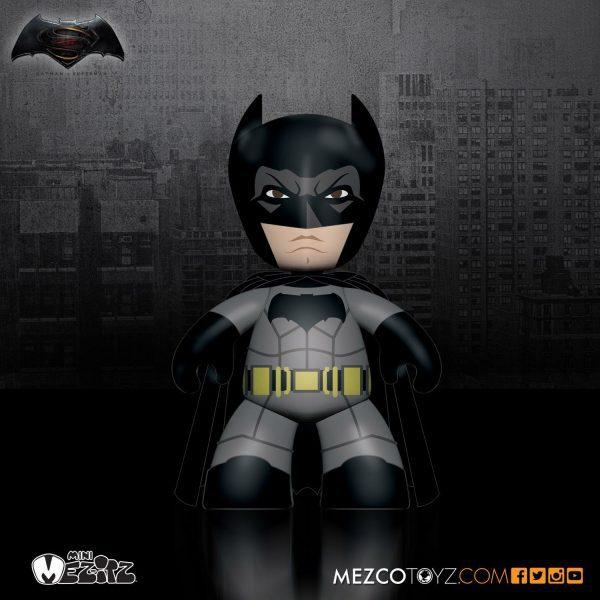 Batman vs Superman: Dawn of Justice - Mez-itz 5cm Action Figure 4-Pack