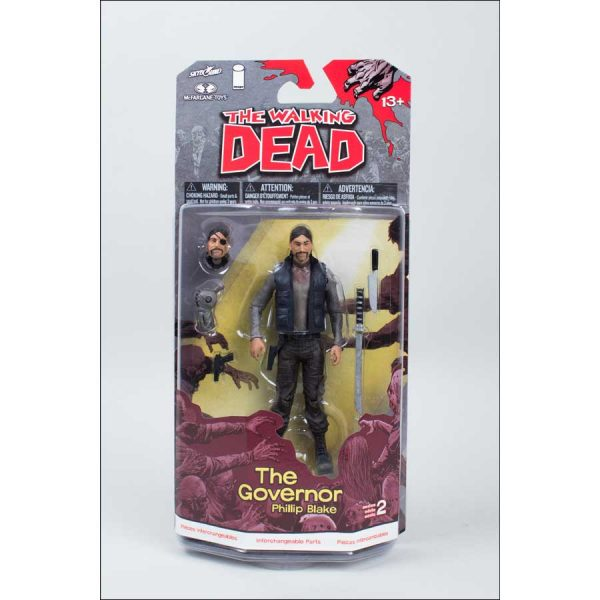 """The Walking Dead - Comic Series 2 - The Governor 12.5cm(5"""") Action Figure"""