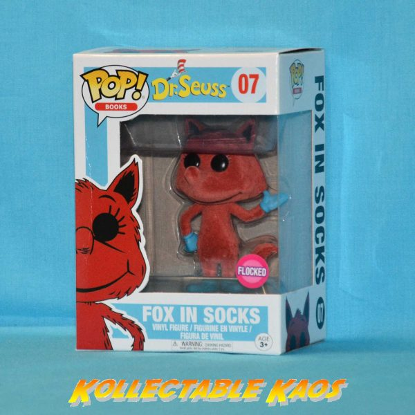 Dr Seuss - Fox in Socks Flocked Pop! Vinyl Figure(RS)