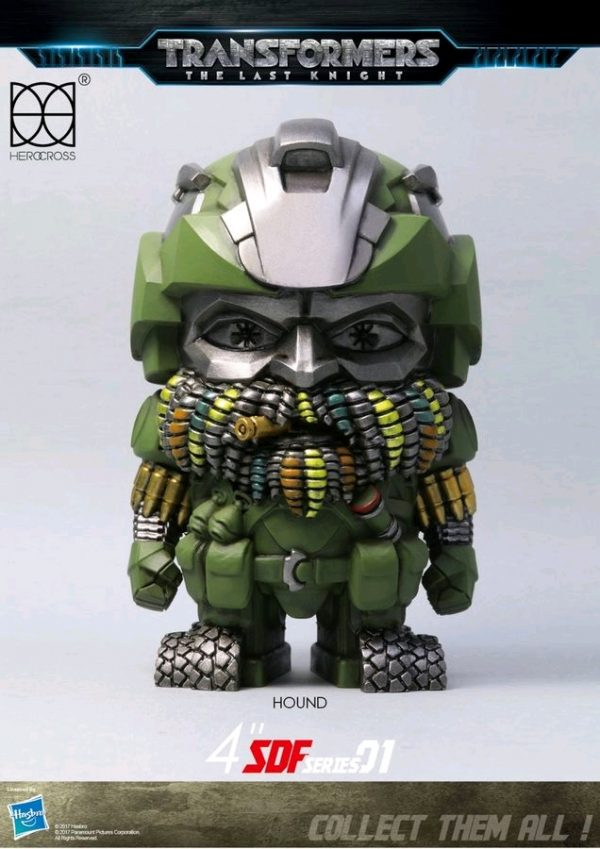 "Transformers 5: The Last Knight - Hound 10cm(4"") Metal Figure"