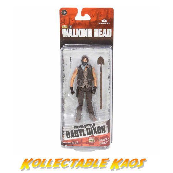 "The Walking Dead - TV Series - Grave Digger Daryl Dixon 12.5cm(5"") Action Figure"