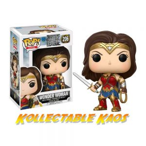 Justice League (2017) - Wonder Woman Pop! Vinyl Figure
