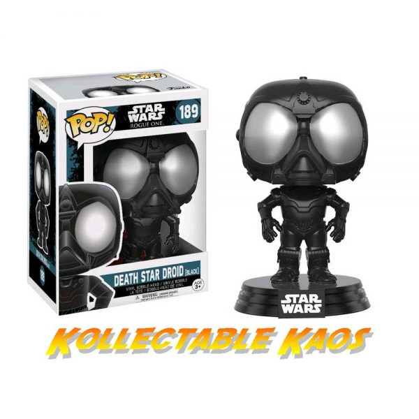 Star Wars: Rogue One - Black Death Star Droid Pop! Vinyl Figure