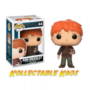 Harry Potter - Ron with Scabbers Pop! Vinyl Figure #44