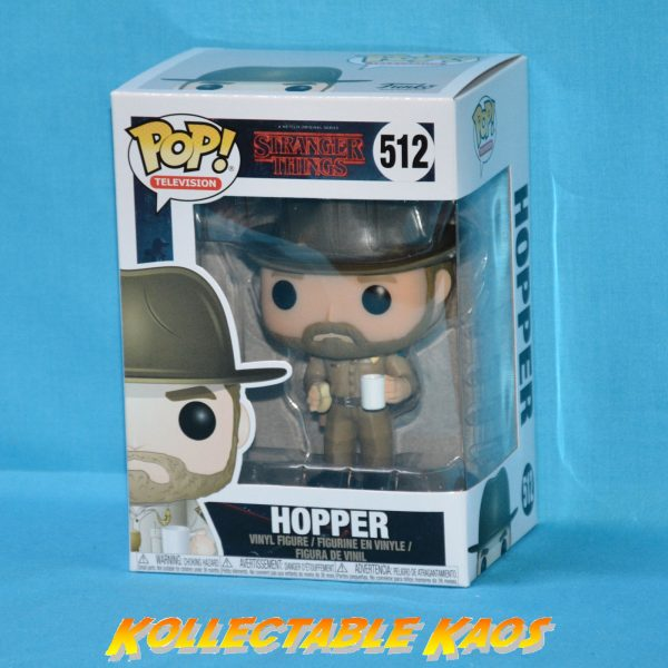Stranger Things - Hopper with Donut Pop!#512