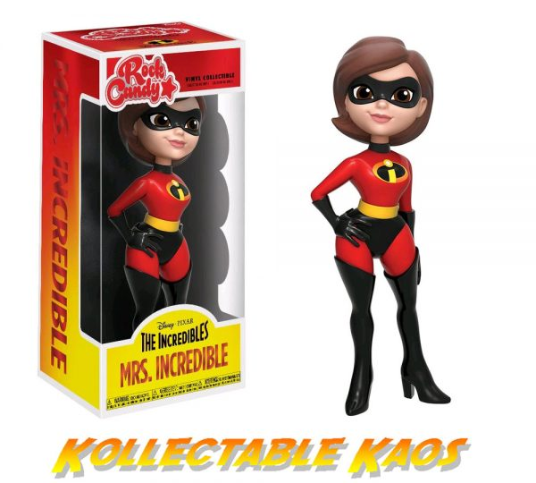 """The Incredibles - Mrs Incredible Rock Candy 12.5cm(5"""") Vinyl Figure"""