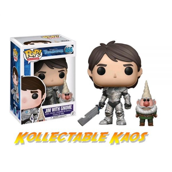 Trollhunters - Jim with Gnome Pop! Vinyl Figure (RS)