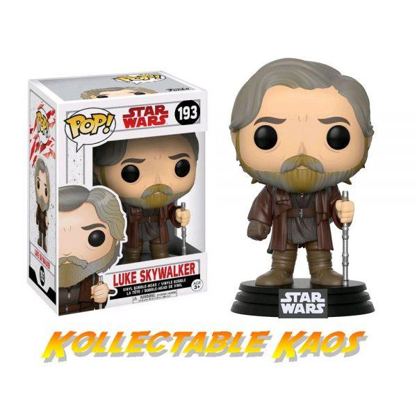 Star Wars Episode VIII: The Last Jedi - Luke Skywalker Pop! Vinyl Figure