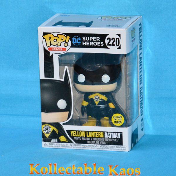 Batman - Yellow Lantern Batman Glow in the Dark Pop! Vinyl