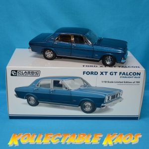 1:18 Ford XT GT Falcon - Starlight Blue