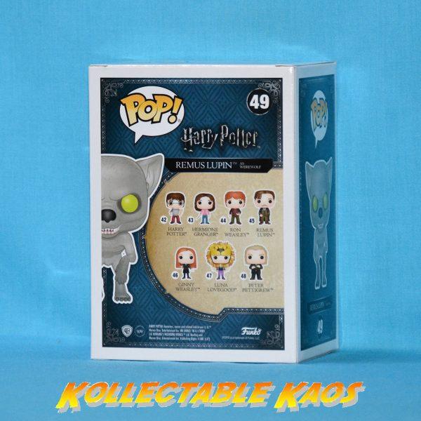 Harry Potter - Remus Lupin as Werewolf Pop! Vinyl Figure (RS)