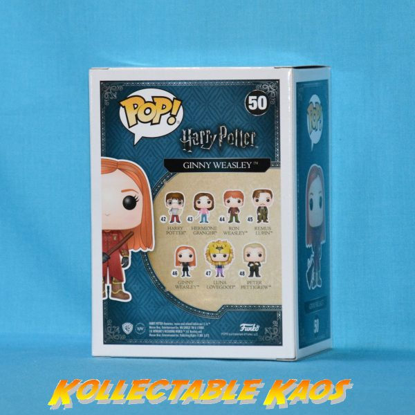 Harry Potter - Ginny in Quidditch Robes Pop! Vinyl #50 (RS)