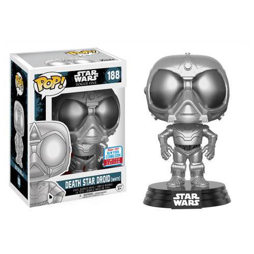 Star Wars: Rogue One - Death Star Droid Pop! Vinyl #188 - NYCC2017