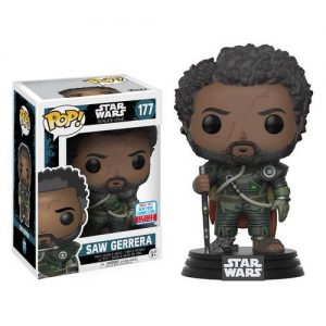 Star Wars: Rogue One - Saw Gerrera with Hair Pop! Vinyl #177 - NYCC2017 Fall Convention