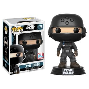 Star Wars: Rogue One - Jyn Disguise with Helmet Pop! Vinyl #178 - NYCC2017