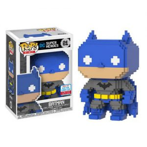DC Super Heroes - 8-Bit Blue & Grey Batman #01 - NYCC2017 (RS)