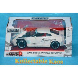 1:24 Jada - 2009 Nissan GT-R (R35) Ben Sopra - White