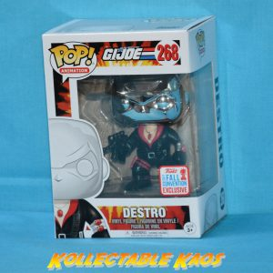 G.I. Joe - Destro Pop! Vinyl #268 - NYCC 2017 Fall Convention
