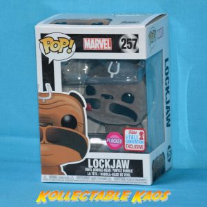 Inhumans - Lockjaw Flocked Pop! Vinyl #257 - NYCC 2017 Fall Convention