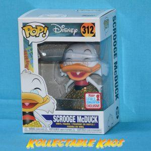 DuckTales - Swimsuit Scrooge McDuck Pop! Vinyl #312 - NYCC 2017 + PROTECTOR