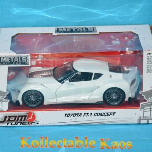1:24 Jada - Toyata FT-1 Comcept - White