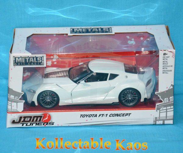 1:24 Jada - Toyata FT-1 Comcept - White
