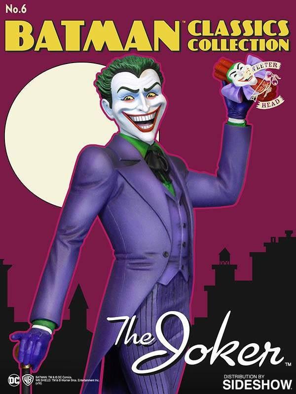 Batman - Classic Joker Maquette Statue