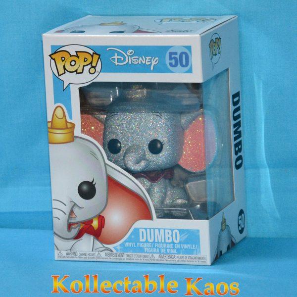 FUN23941 Dumbo DGL 1 600x600 - Dumbo - Dumbo Diamond Glitter Pop! Vinyl Figure #50 + protector