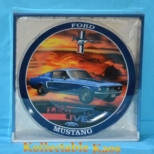 Collector Plate - Ford Mustang - The Legend Live