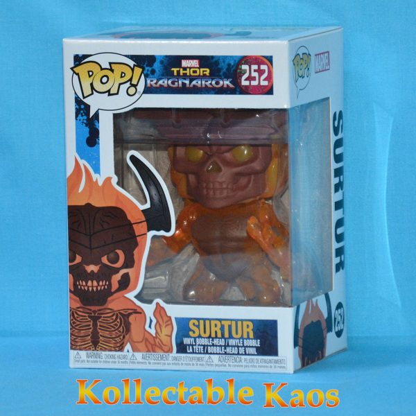 Thor 3: Ragnarok - Surtur Pop! Vinyl Figure #252 (RS)