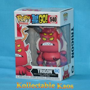 Teen Titans Go! - Trigon Pop! Vinyl Figure (RS)
