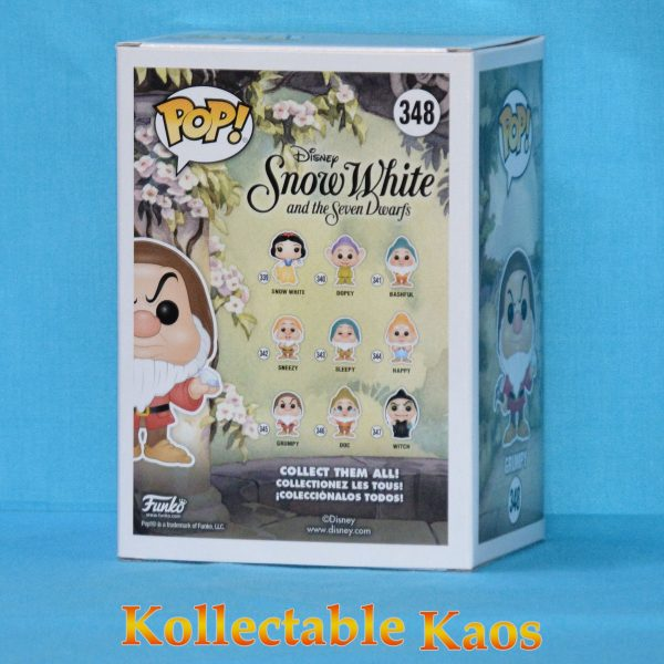 Snow White and the Seven Dwarfs - Grumpy with Diamond and Pick Pop! Vinyl Figure (RS)