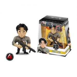 "The Walking Dead - Glenn 10cm(4"") Metals Die-Cast Action Figure"