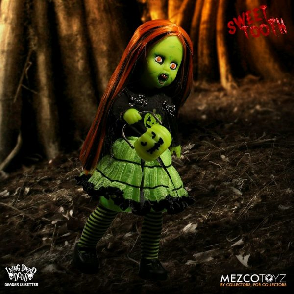 """Living Dead Dolls - Sweet Tooth - Green Variant 25cm(10"""") Doll"""