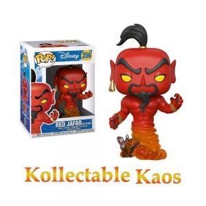Aladdin - Red Jafar as Genie Figure