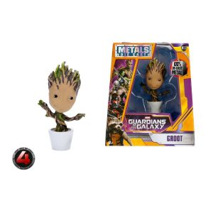 """Guardians of the Galaxy - Potted Groot 10cm(4"""") Metals Die-Cast Action Figure"""