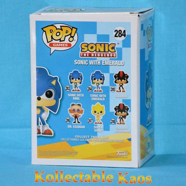 Sonic the Hedgehog - Sonic with Chaos Emerald Pop! Vinyl Figure