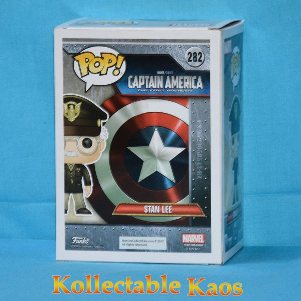 Stan Lee - Captain America: The First Avenger Cameo Pop! Vinyl Figure (RS)