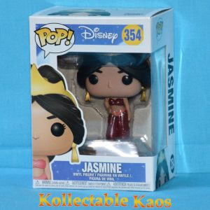 Aladdin - Jasmine - Red Dress Glitter Pop! Vinyl Figure (RS)