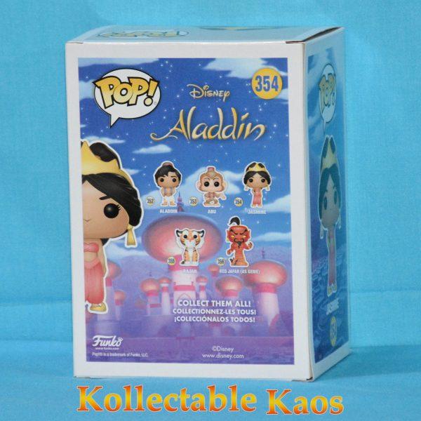 Aladdin - Jasmine - Red Dress Glitter Pop! Vinyl Figure (RS)