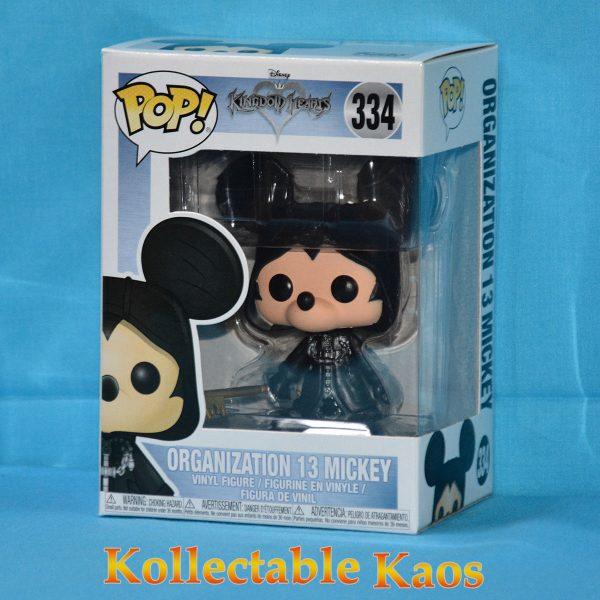 Kingdom Hearts - Organization 13 Mickey Pop! Vinyl Figure (RS)