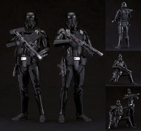 Star Wars - Death Trooper - 2 Pack Pre-Painted Kit