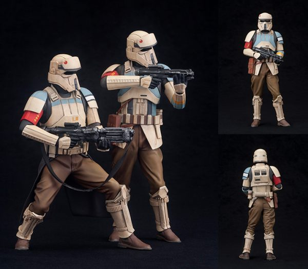 Star Wars - Rogue One - Shoretrooper 2 Pack Squad Leader & Captain ARTFX+ Statue