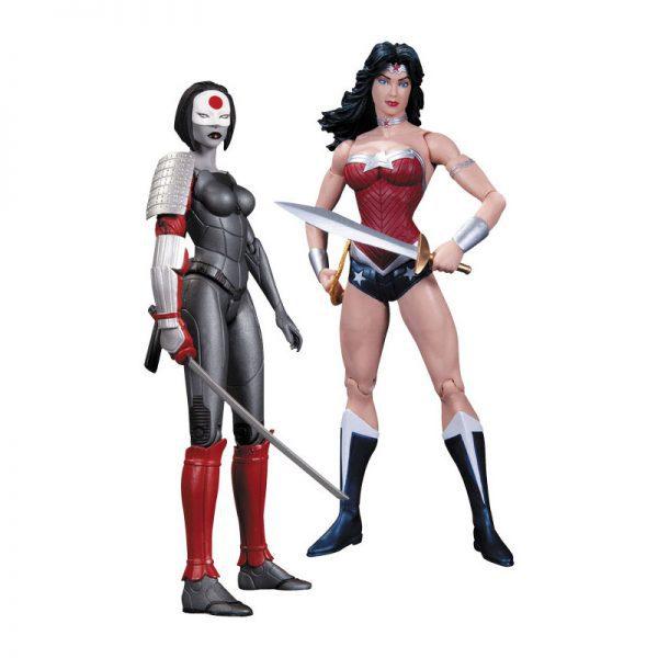 DC Comics - Wonder Woman vs Katana Action Figure 2-Pack