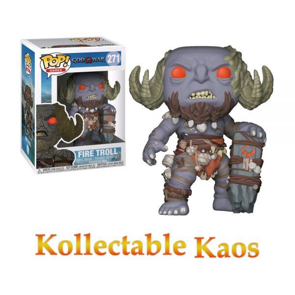 God of War (2018) - Fire Troll Pop! Vinyl Figure