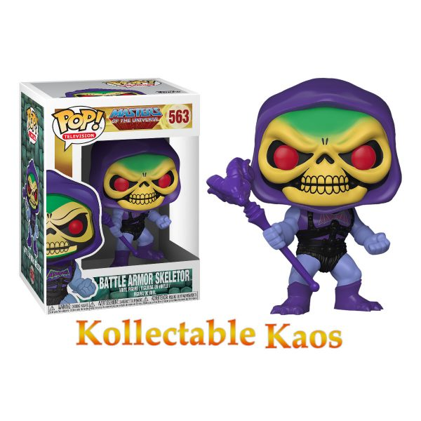 Masters of the Universe - Skeletor with Damaged Armor Pop! Vinyl Figure